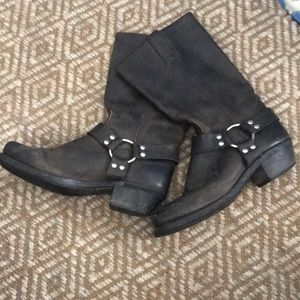 Frye Motorcycle Boots. Lightly Used